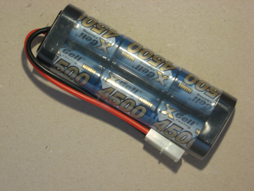 XCell Racing Pack NiMH 7,2V / 4500mAh