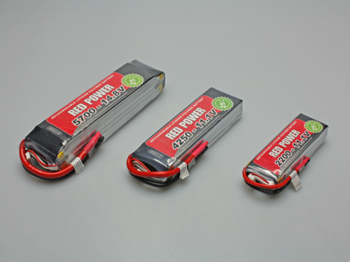 RED POWER 4S1P 14,8V / 4250mAh  25C